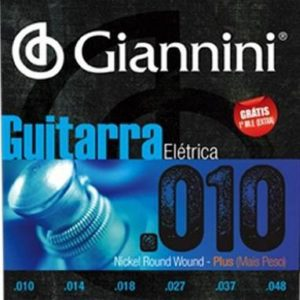 encordoamento giannini guit 010